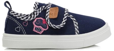 D-D-step dekliški čevlji s sladico, 20, modri