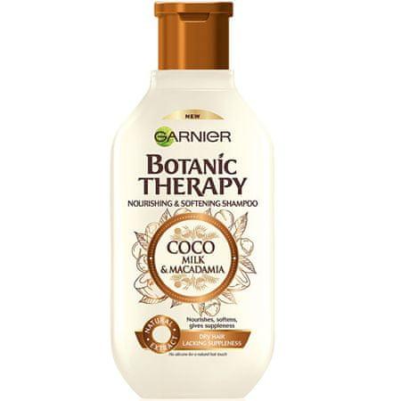 Garnier Botanic Therapy (Coco Milk & Macadamia Shampoo) Odżywczy i kojący szampon do włosów suchych i grubyc