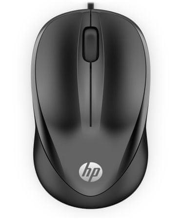 HP 1000 miška, črna