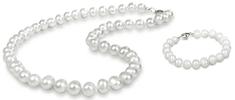 JwL Luxury Pearls Zvýhodnená perlová súprava šperkov JL0264 a JL0362 striebro 925/1000