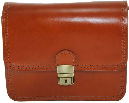 Arturo Vannini ženska torbica za nošenje čez ramo, univerzalna, rjava