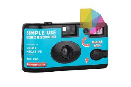 Simple Use fotoaparat za enkratno uporabo, Color Negative barvni film