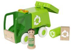 Brio kamion za smeće sa zvučnim i svjetlosnim efektima 30278