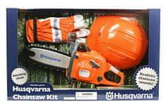 Husqvarna igrača motorna žaga+čelada+rokavice