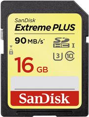 SanDisk Extreme Plus SDHC 16GB (SDSDXSF-016G-GNCIN)