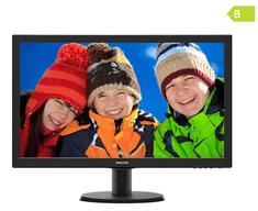 Philips LED monitor 243V5QHSBA/00, 59,9 cm