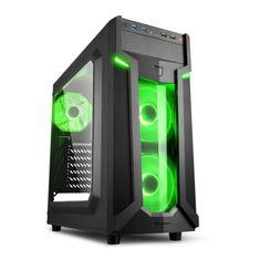 Sharkoon ohišje MIDI T ATX W/O PSU VG6-W, zeleno