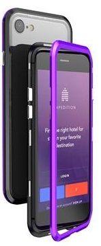 Luphie CASE Luphie Blade Magnet Hard Case Aluminium Black/Purple pro iPhone 7/8 2441664