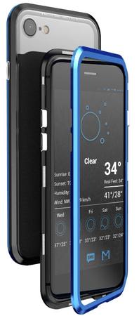 Luphie CASE Luphie Blade Magnet Hard Case Aluminium Black/Blue az iPhone 7/8 Plus 2441667 számára