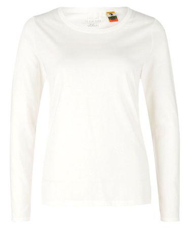 s.Oliver női póló 36 krémszínű