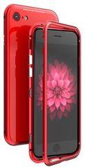 Luphie CASE Luphie celovita zaščita Magneto Hard Case Glass Red pro iPhone 7/8, 2441690, rdeča