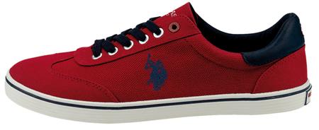 U.S. POLO ASSN. férfi sportcipő Ted 1 45 piros