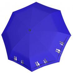 Doppler Dámsky skladací plne automatický dáždnik Fiber Magic Cats 7441465C0502
