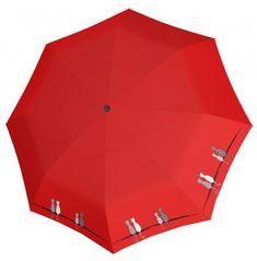 Doppler Dámsky skladací plne automatický dáždnik Fiber Magic Cats 7441465C0501