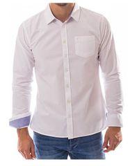 Heavy Tools Pánska košeľa Rimini W17-410 White