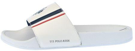 U.S. Polo Assn. muške natikače Nasso, bijele, 43