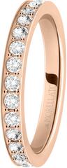 Morellato Bronzový prsteň s kryštálmi Love Rings SNA40