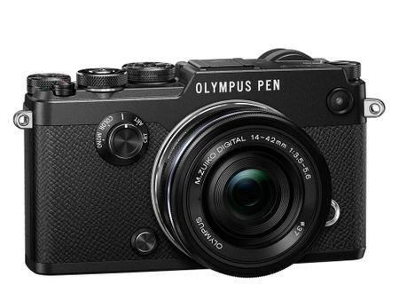 OLYMPUS PEN-F Black + 14-42 mm EZ