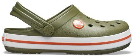 Crocs Crocs natikači Crocband Clog K Army Green/Burnt Sienna, zeleni, C6 23