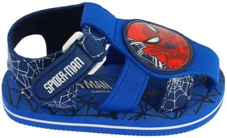 Disney by Arnetta dječje papuče Spiderman, plave, 25