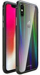 Luphie CASE Aurora Condom Aluminium Frame + TPU Case Black/Crystal az iPhone XS Max számára 2442689