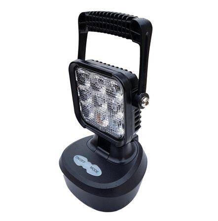 Golm LED luč, 9LED, 18 W, 12/24V, magnet