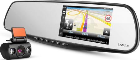 LAMAX avto kamera S5 Navi+ - Odprta embalaža