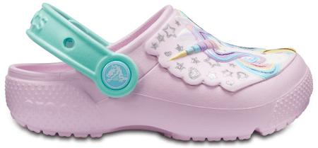 Crocs Fun Lab Clog K Ballerina Pink/New Mint C6 23