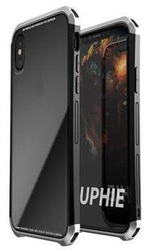 Luphie CASE ovitek Double Dragon Aluminium Hard Case Black/Silver za iPhone X 2441727