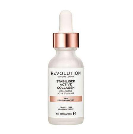 Makeup Revolution Zpevňující sérum s aktívnym kolagénom (Skin Firming Solution, Stabilised Active Collagen ) 30 ml
