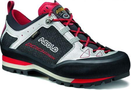 Asolo Freney Low cipő Gv Mm Black Silver A386 44,5
