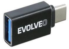 Evolveo C1, redukcja USB-A 3.1 / USB-C 3.1 Gen 2, 10 Gb/s ADAPTER-USB-C-USB-A