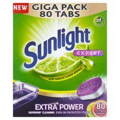 Sunlight GIGA PACK All in One Expert Citrón 80 tabliet