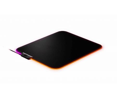 SteelSeries podloga za miško QcK Prism Cloth, svetleča, M