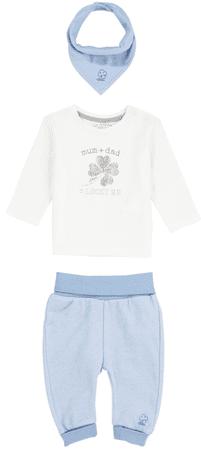 s.Oliver chlapčenský dojčenský set 50 - 56 modrá