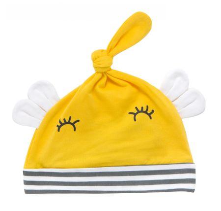 Cangurino otroška kapa, 38, rumena