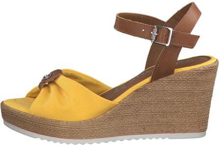 Tamaris dámské sandály 40 žlutá