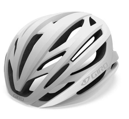 Giro kask Aeon Mat White/Silver L 59-63