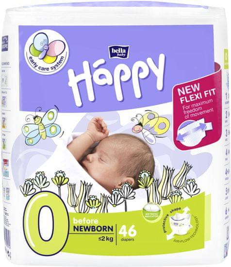 Bella Happy 0 Before New Born (do 2 kg) 46 ks