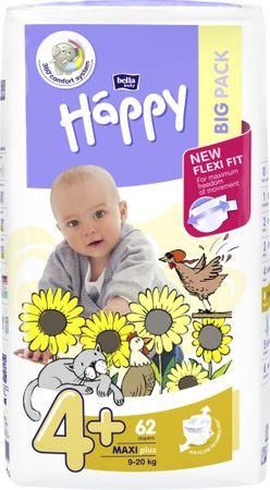 Bella Happy Bella Happy 4+ Maxi+ Pelenka 62 db