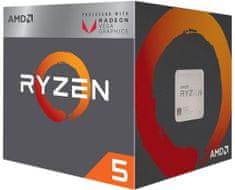 AMD Procesor Ryzen 5 2400G, RX VEGA