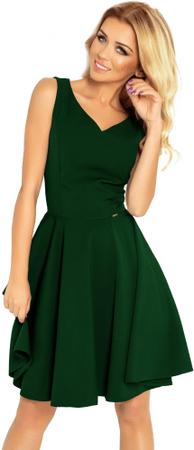 Numoco dámské šaty L zelená