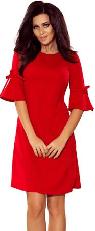 Numoco sukienka damska S czerwona