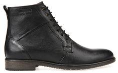 Geox Férfi bőr cipő Jaylon Fekete U74Y7C-00046-C9999