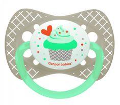 Canpol babies CUPCAKE szimmetrikus szilikoncumi, 18+ hónap