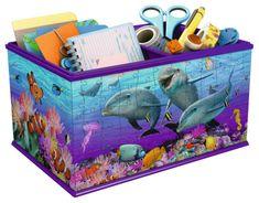 Ravensburger puzzle-pojemnik Podwodny Świat, 216 szt.