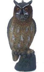 Qenerika Maketa sovy na plašenie holubov a vtákov