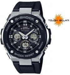 CASIO G-Shock G-Steel GST-W300-1AER napelemes rádióvezérelt karóra
