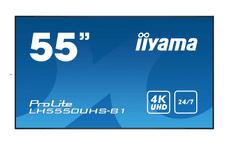 iiyama ProLite LED LCD informacijski monitor, 139,7cm, AMVA3 4K UHD (LH5550UHS-B1)