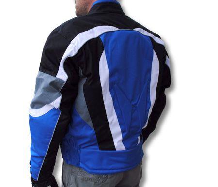 REVOLUTION motoristična jakna modro/črna